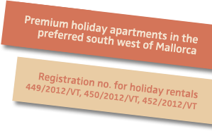 We are officially registered as holiday homes host on Mallorca!